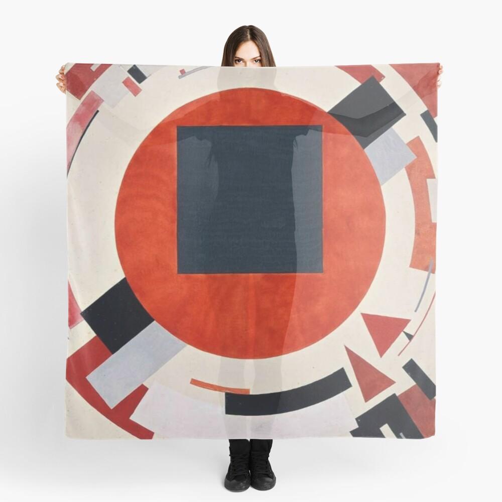 Lissitzky's Proun, scarf,x1050-pad,1000x1000,f8f8f8