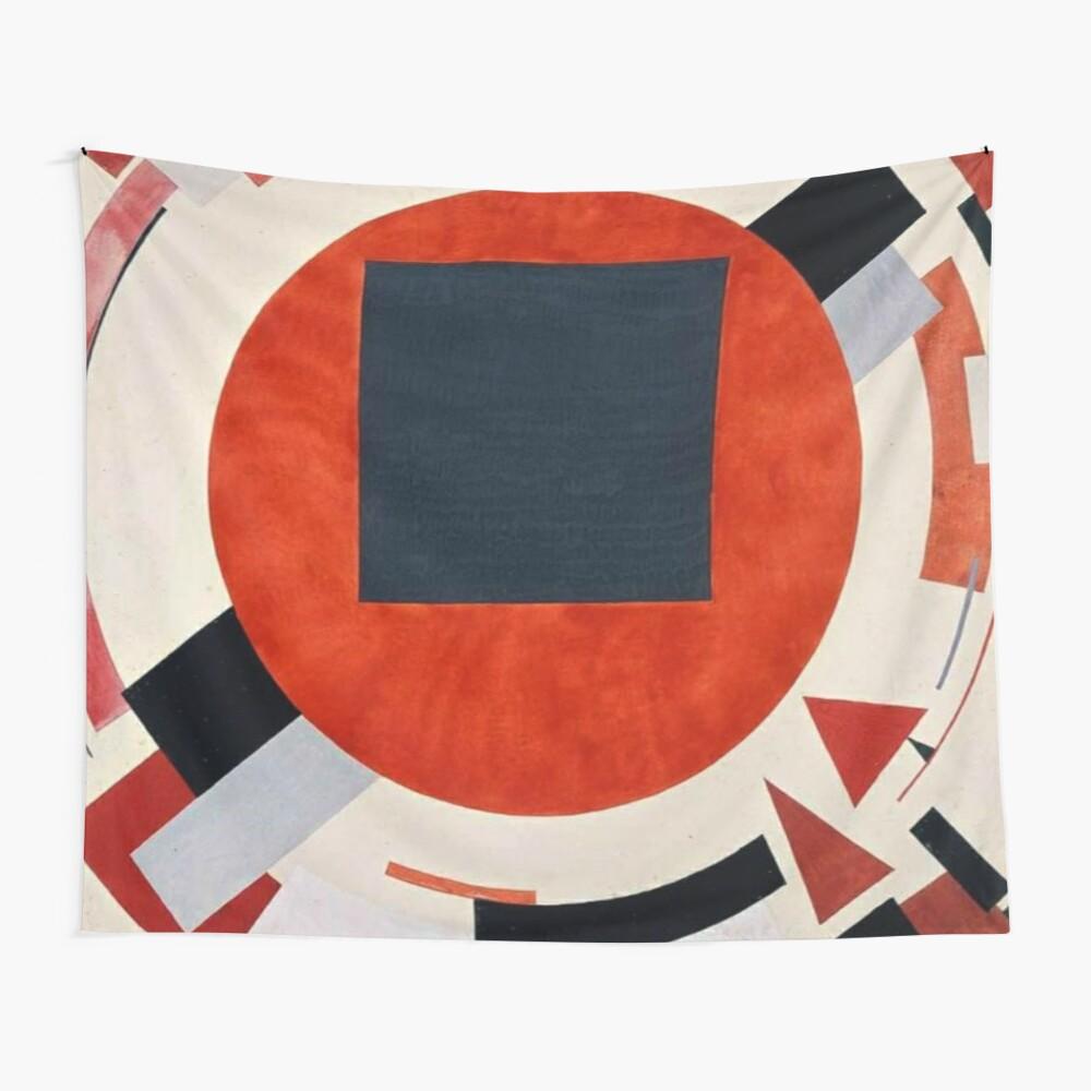 Lissitzky's Proun, tapestry,1200x-pad,1000x1000,f8f8f8
