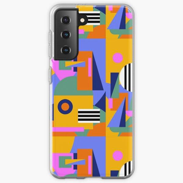 city scape pattern Samsung Galaxy Soft Case