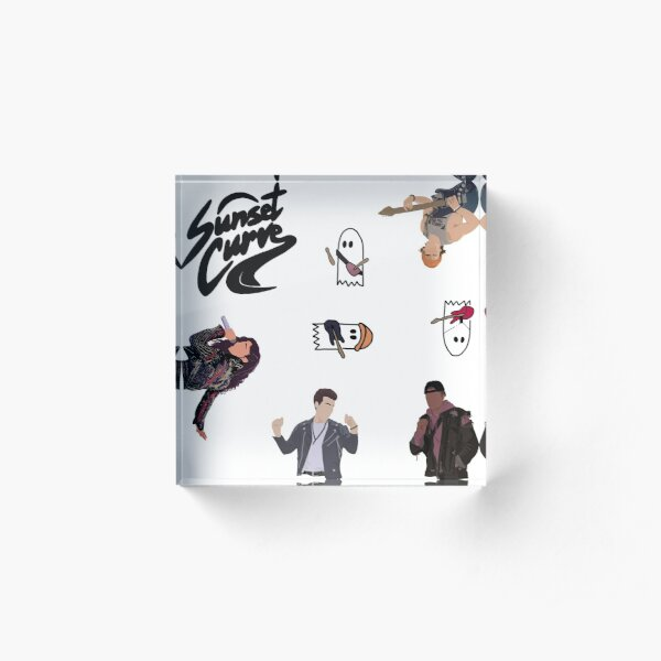 Julie and the Phantoms ultimate sticker pack Acrylic Block