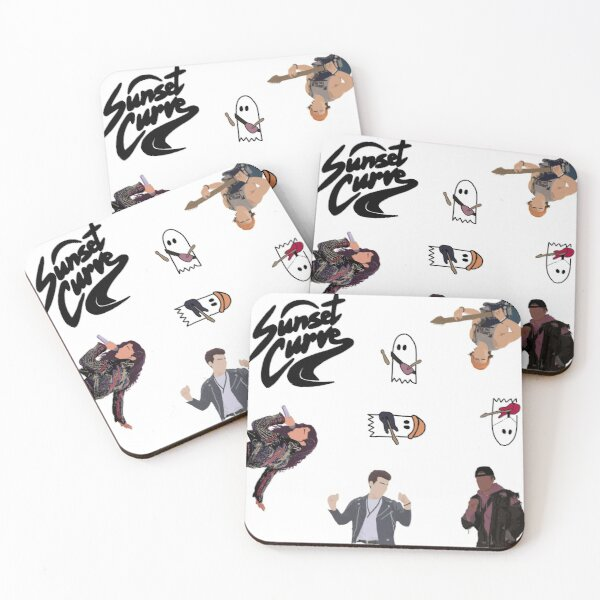 Julie and the Phantoms ultimate sticker pack Coasters (Set of 4)