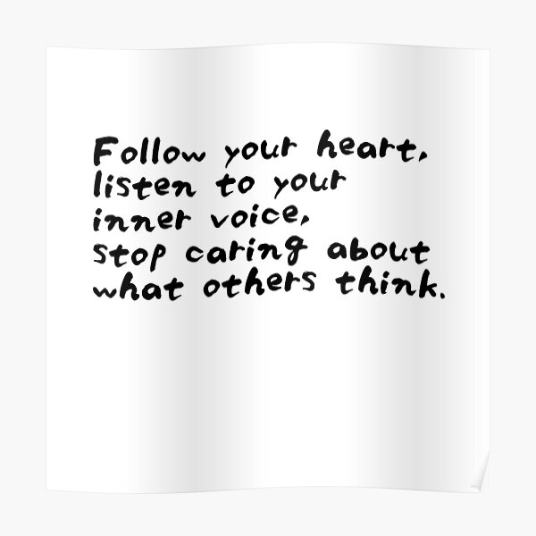 Roy T. Bennett - The Light in the Heart: Stop caring about what others think Poster