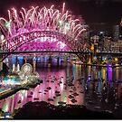 Sydney NYE Fireworks 2015 # 2 by Philip Johnson
