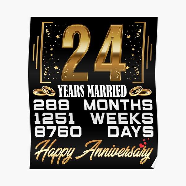 Hochzeitstag 24 24 Hochzeitstag