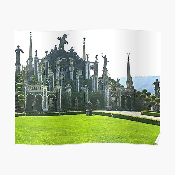 isola bella italy photography  Poster