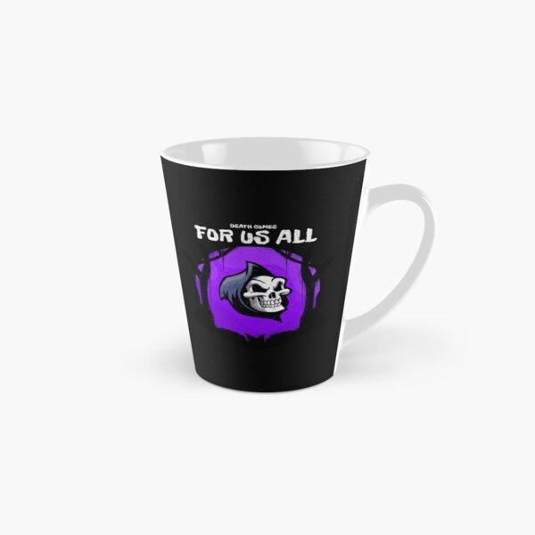 Halloween Death Comes to us all Skull Gift Tall Mug