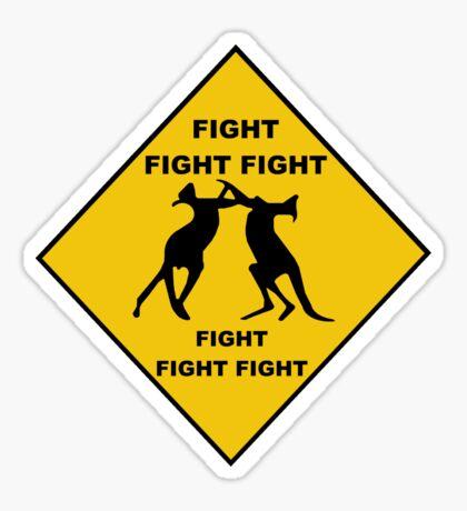 Fight fight fight Sticker