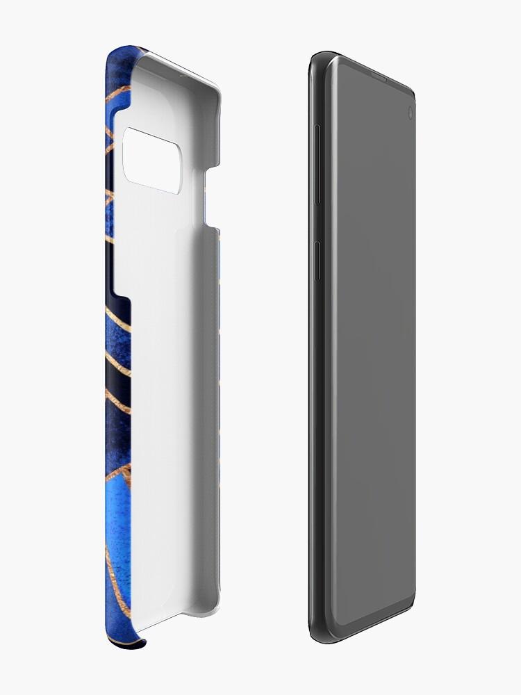 Alternate view of Blue Night Case & Skin for Samsung Galaxy