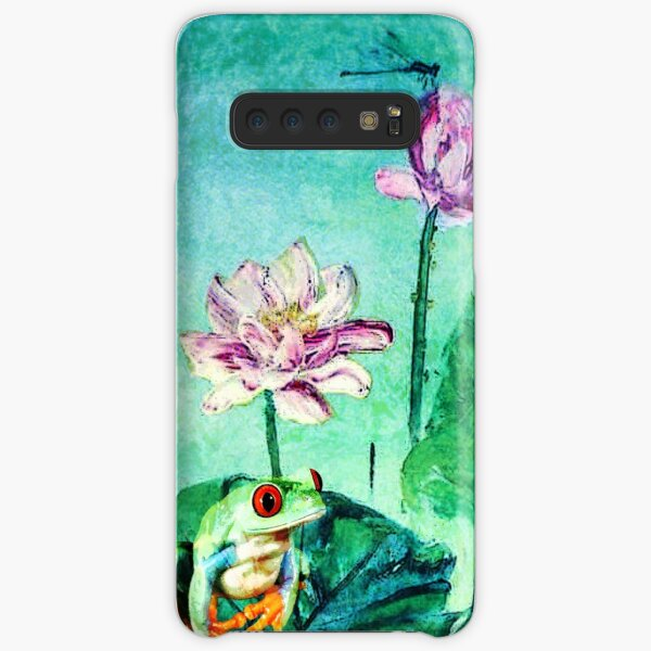 FROG AND DRAGONFLY Samsung Galaxy Snap Case