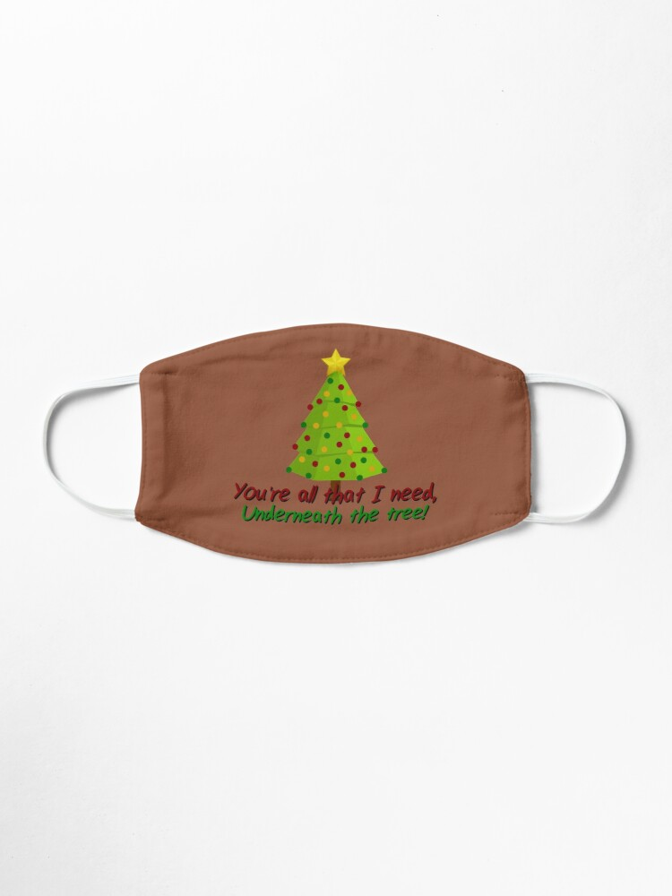 Alternate view of All I Need Underneath The Tree - Kelly Clarkson Christmas Design Mask