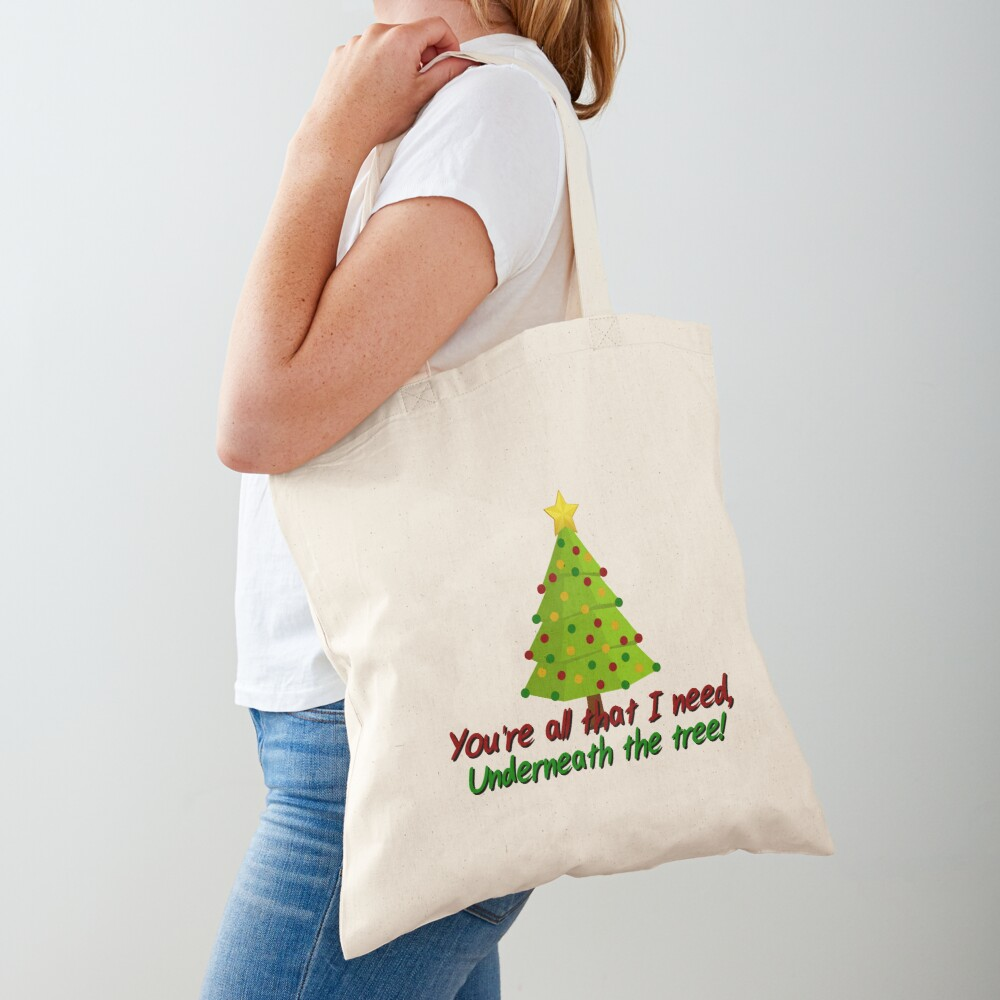 All I Need Underneath The Tree - Kelly Clarkson Christmas Design Tote Bag