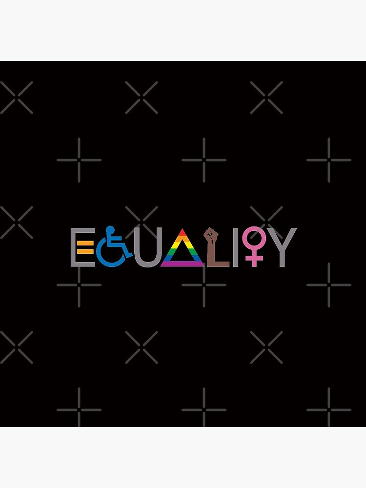 Equality (V2 For Dark Fabric) by BendeBear