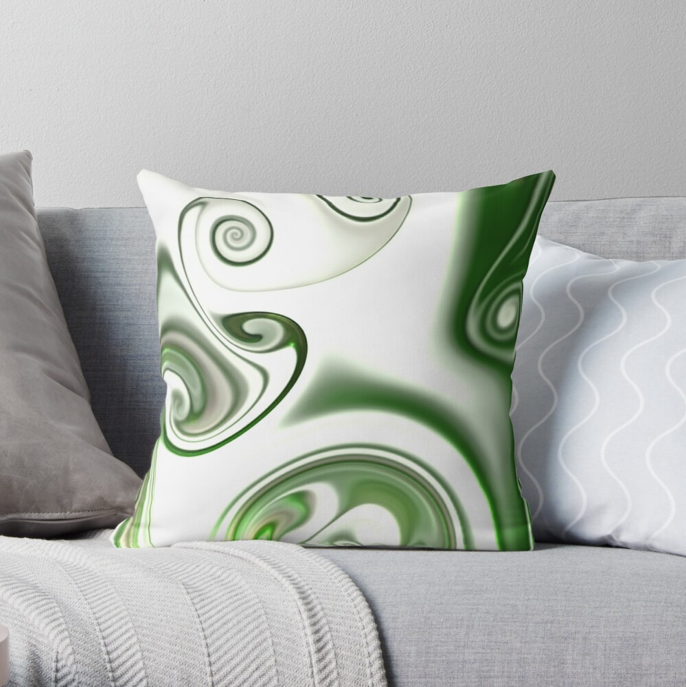 Multicolored unique everlasting pattern. Abstract watercolor new collection.  17  Throw Pillow