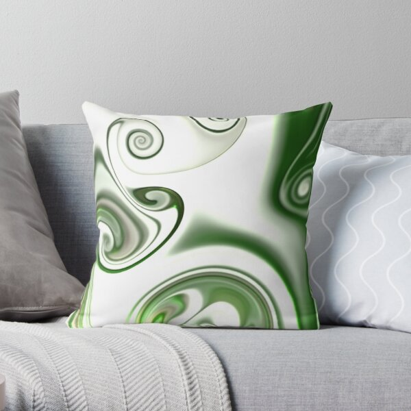 Multicolored unique everlasting pattern. Abstract watercolor new collection. |17| Throw Pillow