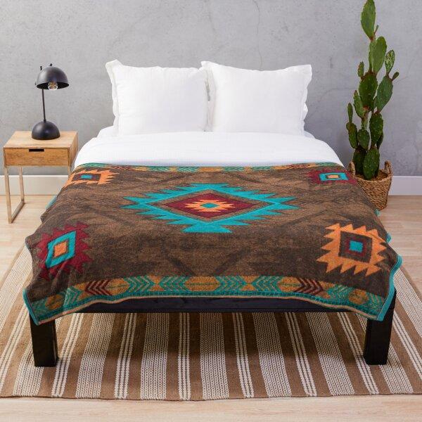 Canyon   Navajo Throw Blanket