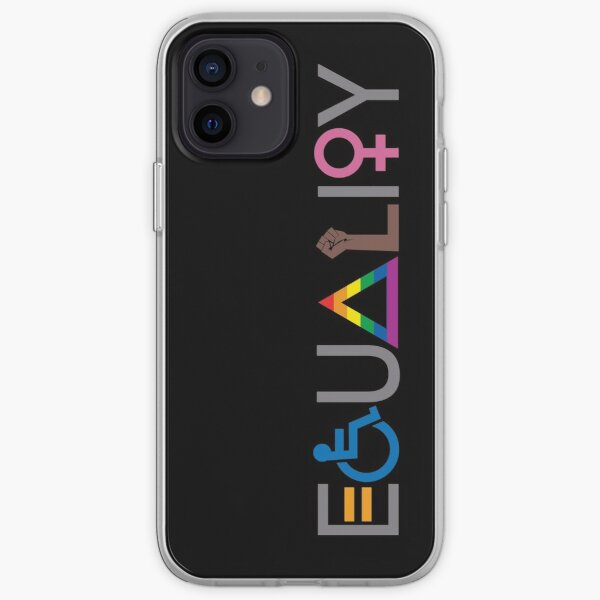 Equality (V2 For Dark Fabric) iPhone Soft Case