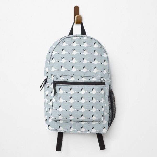 Origami Snow Geese and Clouds Backpack