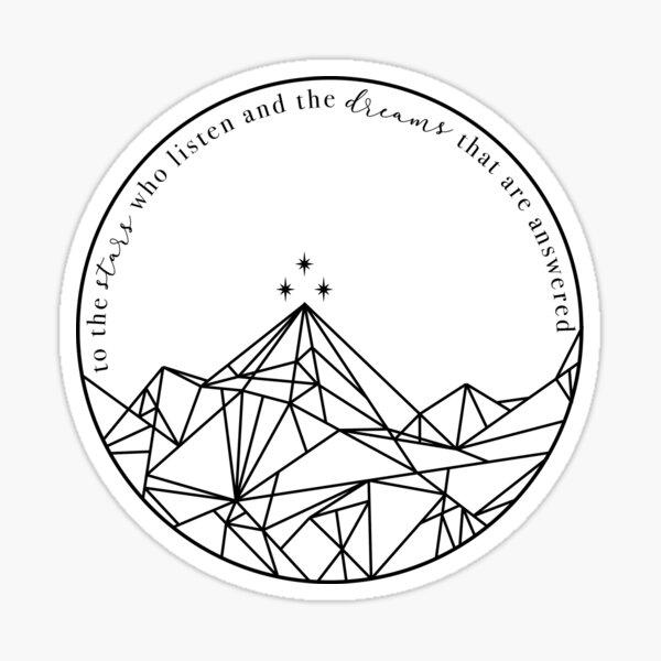 Velaris Sticker
