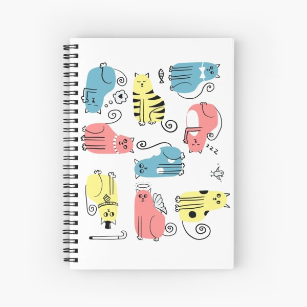All kinds of cats Spiral Notebook