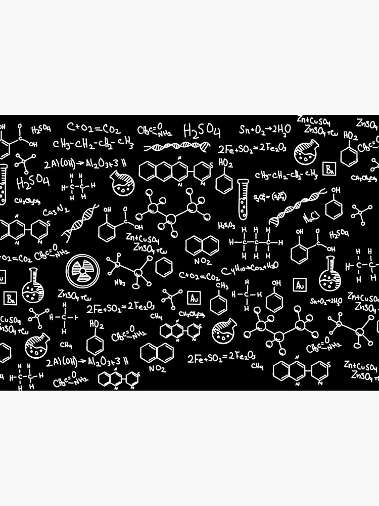 Science Chemistry Pattern  by vladocar