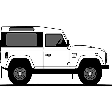 A Graphical Interpretation of the Defender 90 Station Wagon Startech by 3pedaldriving