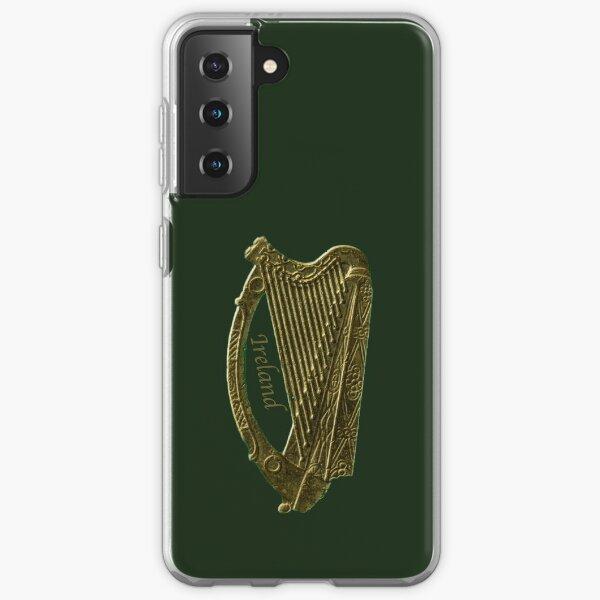 The Golden Irish Celtic Harp Samsung Galaxy Soft Case