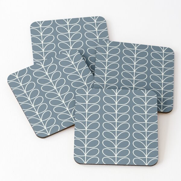orla kiely linear stem Coasters (Set of 4)