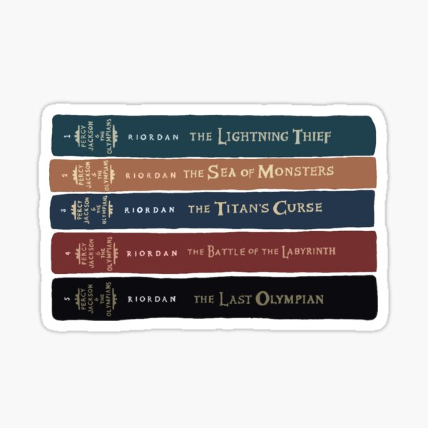Percy Jackson and the Olympians Sticker