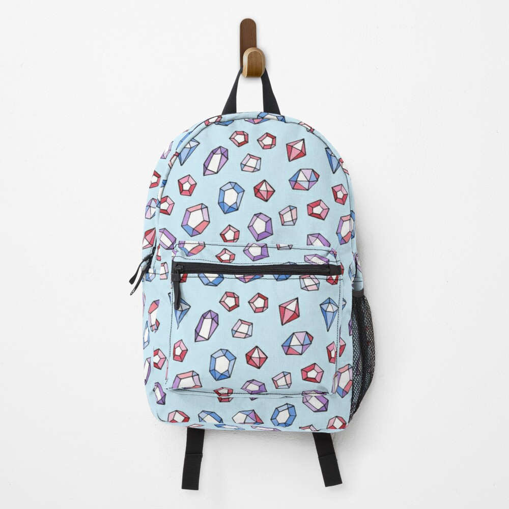 Jewels on blue Backpack