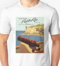 Puerto Ricco Travel Poster T-Shirt