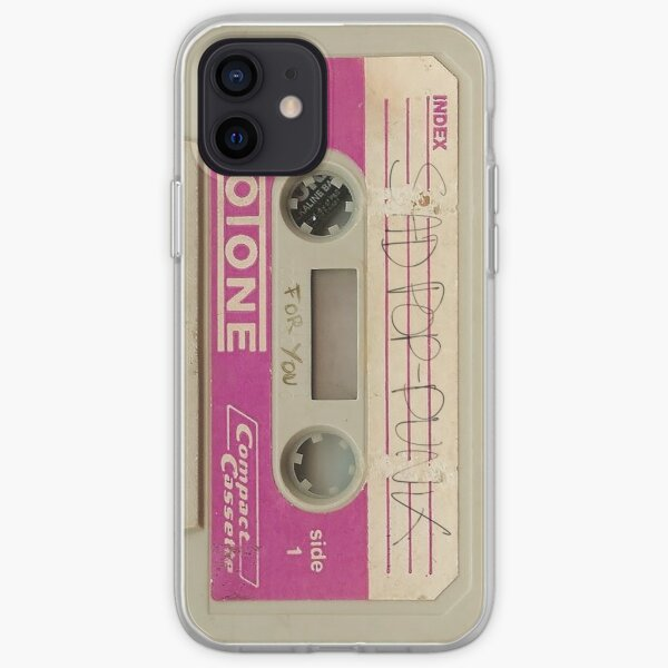 Triste Cassette Pop Punk Funda blanda para iPhone