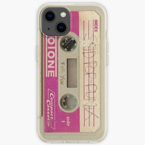 Sad Pop Punk Cassette iPhone Soft Case