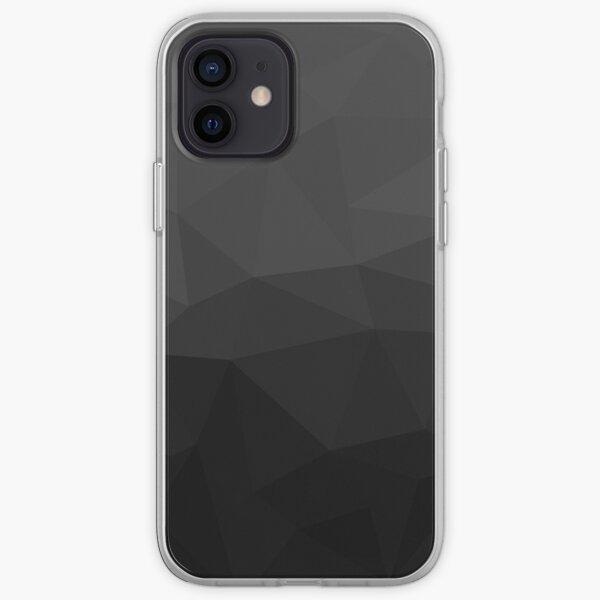 Geometric Black iPhone Soft Case