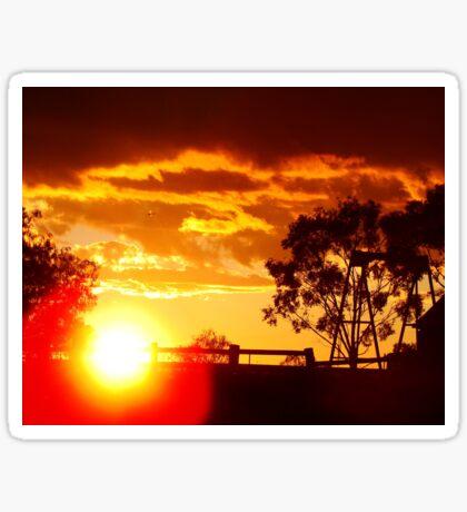 Parwan Sunset Sticker