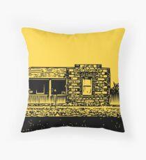 Stone Cottage Throw Pillow