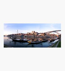 Oporto panorama Photographic Print