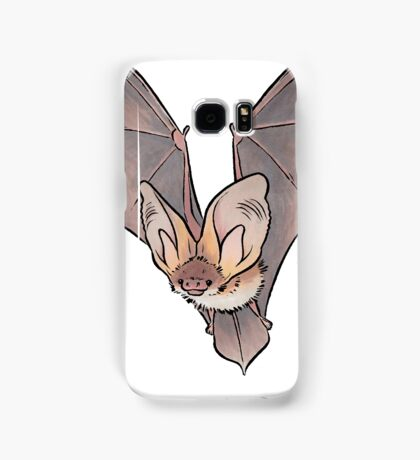 Grey long-eared bat Samsung Galaxy Case/Skin