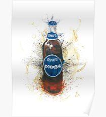 Doom Bar Beer Lager Bottle Poster