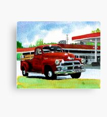1954 Chevrolet Truck Canvas Print