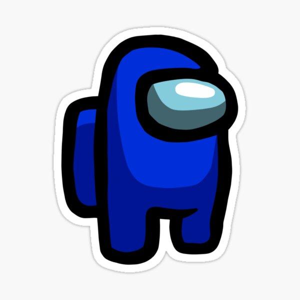 Blue Sus Sticker