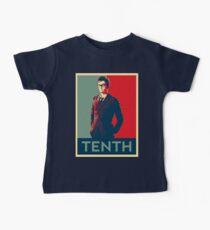 Tenth doctor - Fairey's style Baby Tee