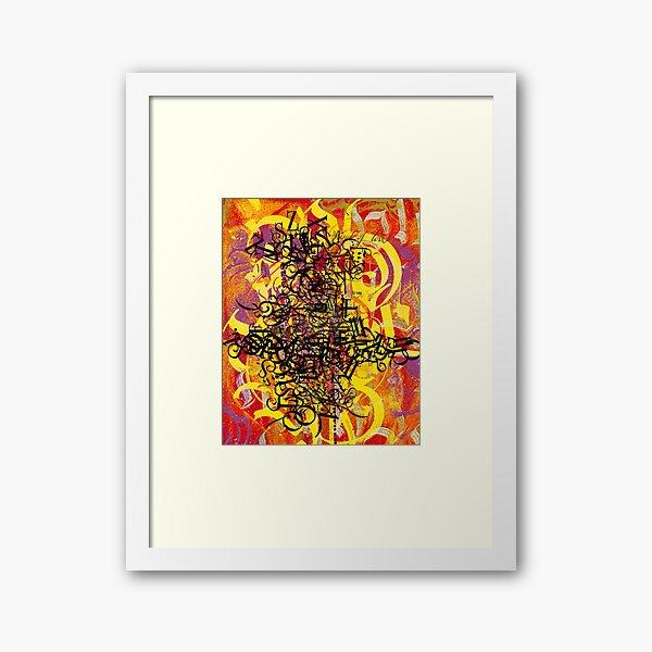 Calligraffiti 1 Framed Art Print