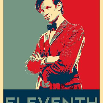 Eleventh doctor - Fairey's style by matildedeschain