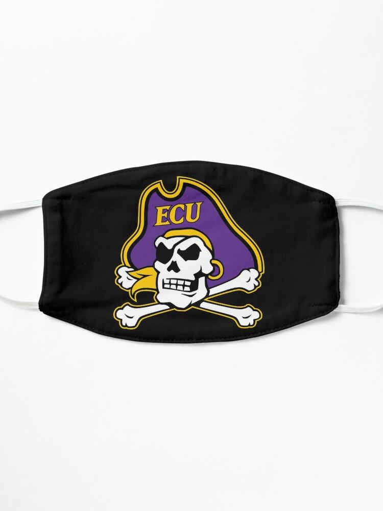 Alternate view of East Carolina Pirates Mask