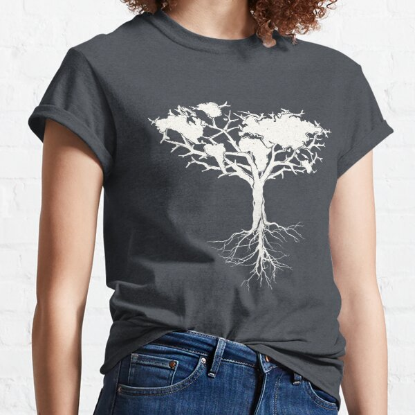 Earth tree *pearl white Classic T-Shirt