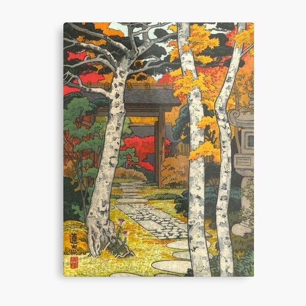 Yoshida Toshi Hakone Shinsengo Sangetsu (Sangean Hakone Museum) Vintage Art Japanese Woodblock Print East Asian Art Cultural Art Metal Print