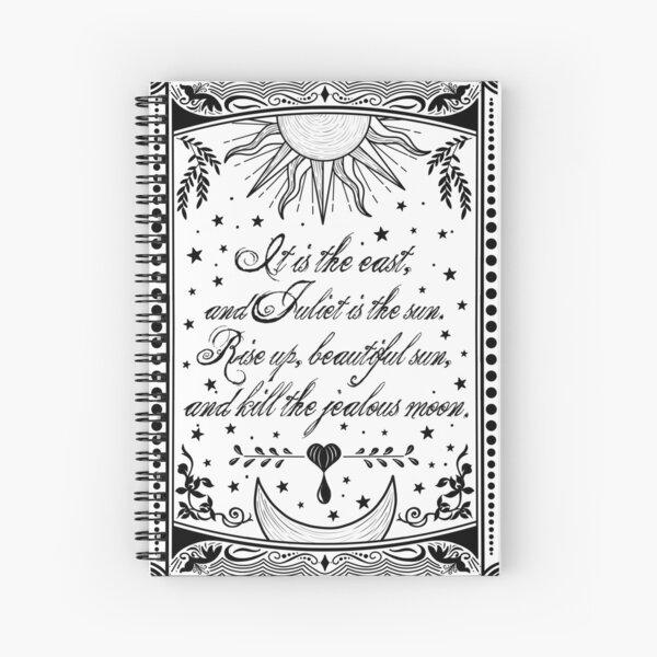 Star crossed lovers Spiral Notebook