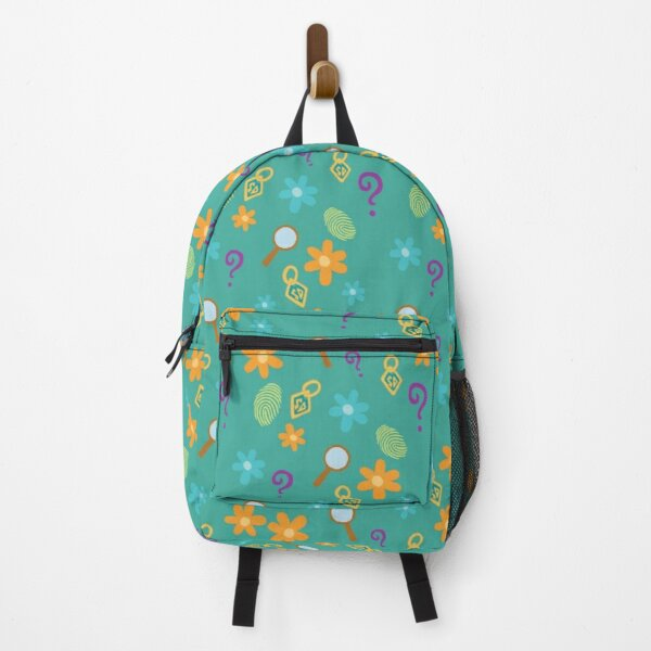 Mystery Inc Pattern (Teal) Backpack