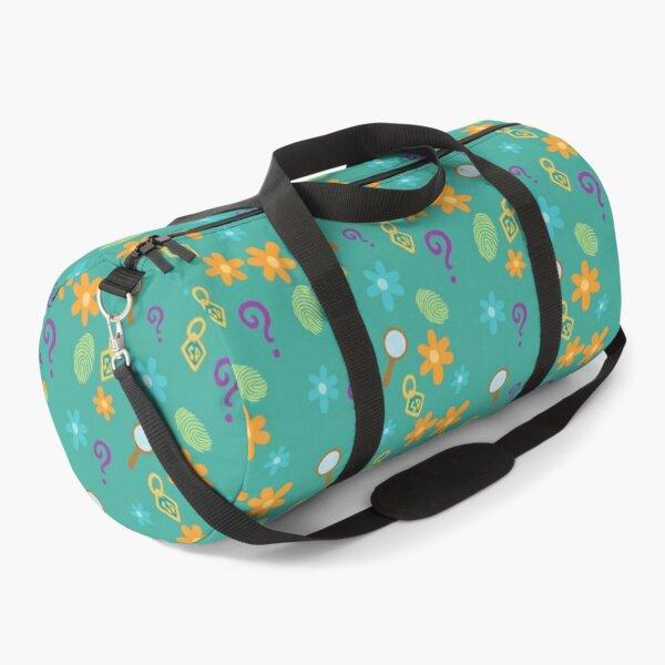 Mystery Inc Pattern (Teal) Duffle Bag