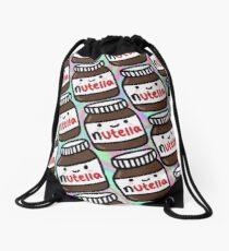 Nutella Drawstring Bag